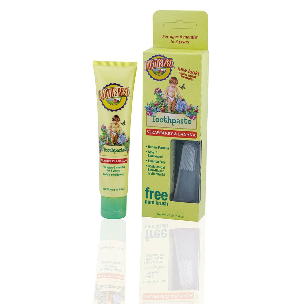 Детская зубная паста (клубника и банан) jason cosmetics (pure natural & organic) 45 г - для детей - biocosmetics-shop.ru.