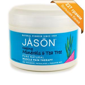 Минеральный гель с маслом чайного дерева Jason