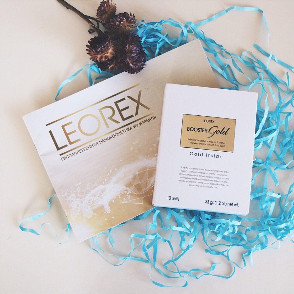 Leorex Booster Gold Inside