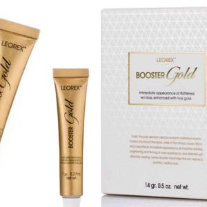 Золотая маска для лица Leorex Booster Gold