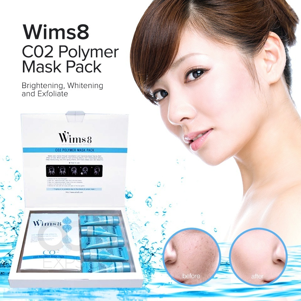 wims8 polymer mask pack co2