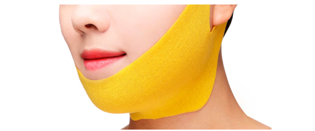 Лифтинг маска бандаж для лица и шеи