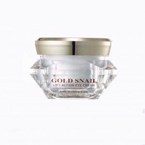 Интенсивный антивозрастной крем для кожи вокруг глаз с золотом и муцином улитки Gold Energy Snail Synergy GOLD SNAIL EYE CREAM 30 мл.