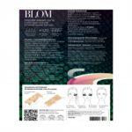 Микроигольные патчи BLOM с пептидом SYN-AKE от мимических морщин обратная сторона пачки