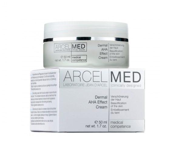 Дермальный крем с AHA-кислотами и пептидами Dermal Aha Effect Cream 50мл Jean D'Arcel