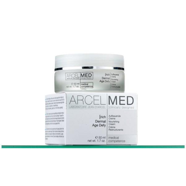 Дермальный питательный крем 24 часа c регенерирующими пептидами JEAN D'ARCEL Dermal Age Defy rich 50 мл.