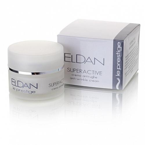 Суперактивный крем против морщин SuperActive Anti-wrinkle creme ELDAN Professional 50 ml.