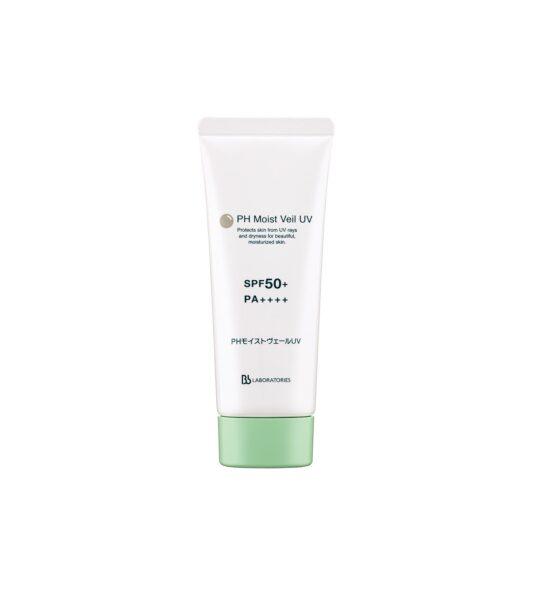 Солнцезащитный флюид SPF50+ PA++++ Бьюти-Перезагрузка для восстановления кожи от агрессивного влияния городской среды PH Moist Veil UV BB Laboratories, 65 гр.
