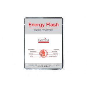 Маска мгновенной красоты Energy Flash express revival mask EVERYoung, 10 процедур