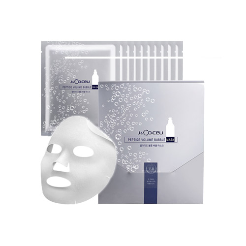 Маска увлажняющая пузырьковая с комплексом пептидов Peptide Volume Bubble Mask, 1 пачка 7 шт.