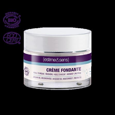 Тающий омолаживающий крем с маслом арганы и авокадо CREME FONDANTE Estime&Sens, 30 ml.